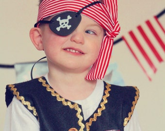 Party Favors Pirate Accessories Scarf Headwrap