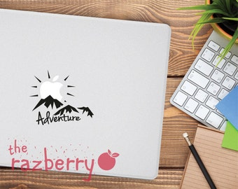 Adventure Macbook Decal Macbook Pro Decal Adventure Nature Sun Macbook Apple Decal Macbook Vinyl Macbook Sticker Adventure Nature Macbook