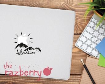 Adventure Macbook Decal Macbook Pro Decal Adventure Nature Sun Macbook Apple Decal Macbook Vinyl Macbook Sticker Adventure Nature Macbook