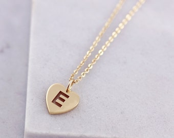 Letter Necklace Gold | Gold Letter Necklace | Letter Necklace | Personalised Jewelry | Unique Necklace | Minimal Necklace | Initial |G