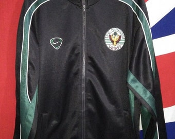 1b3c2e62c9d6 ON SALE VINTAGE Fc Nippon Verdy Japan J League Soccer Track Jacket Jersey  Nike
