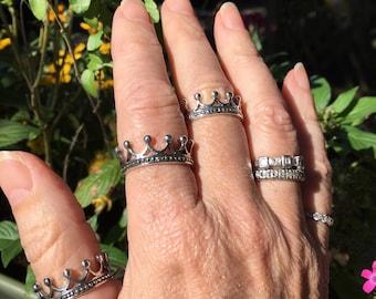 Crown rings/9&10