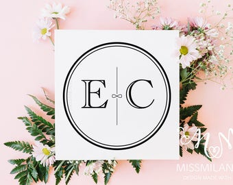 Wedding logo design, Wedding logo, Wedding monogram, Wedding Monogram design, Custom Wedding Monogram, Modern wedding monogram