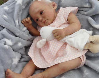baby girl - Coleen - realistic doll reborn