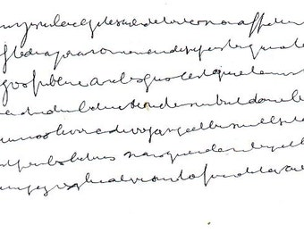 Method - Practice of automatic writing