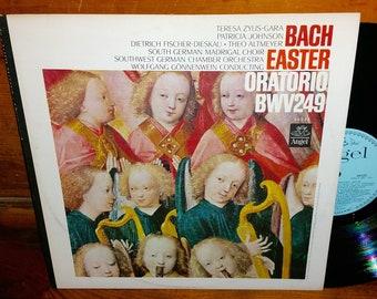 Bach Easter Oratorio Vintage Vinyl Record