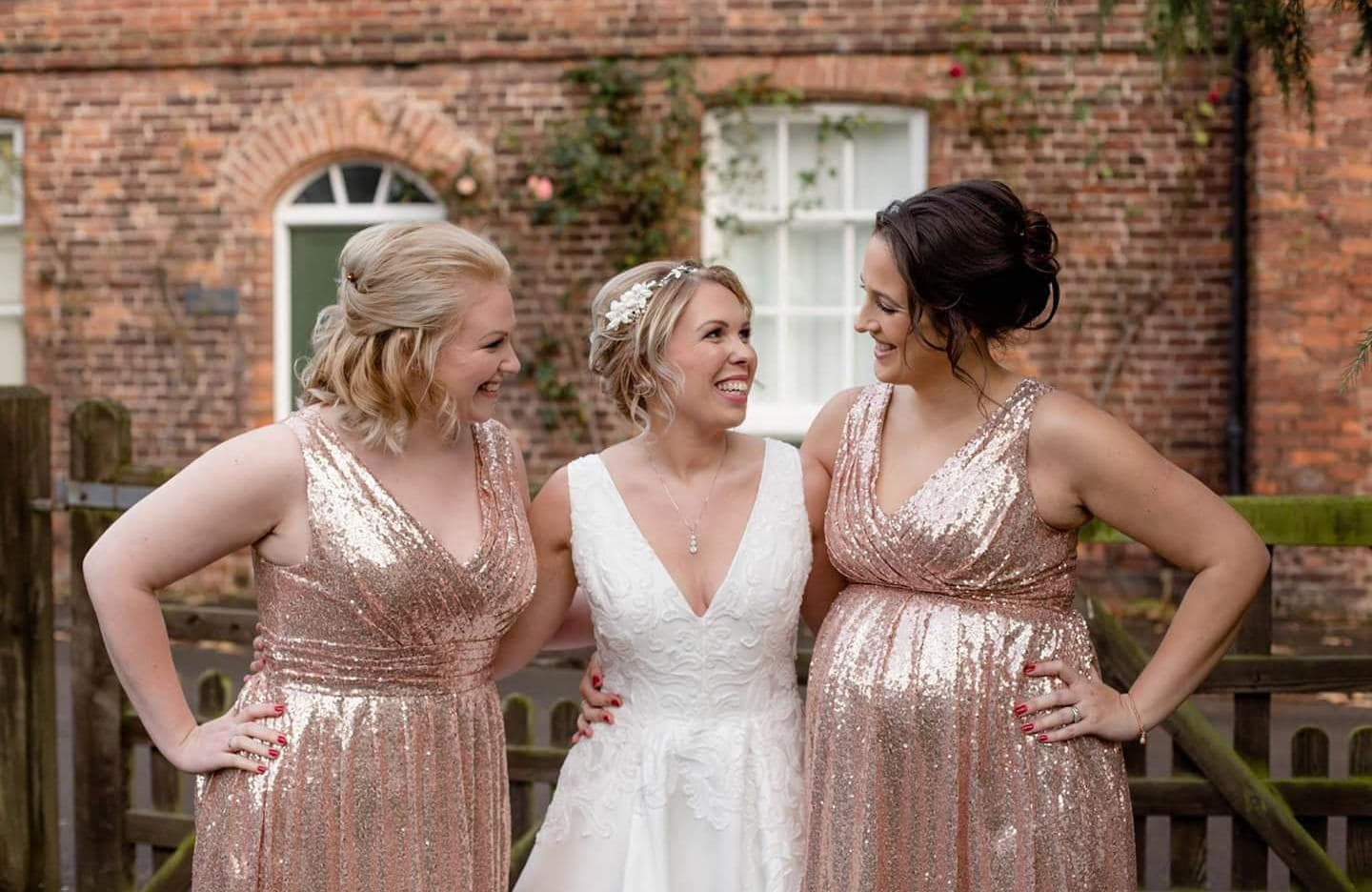 Sequin maternity bridesmaid dress rose gold sequin zoom ombrellifo Images
