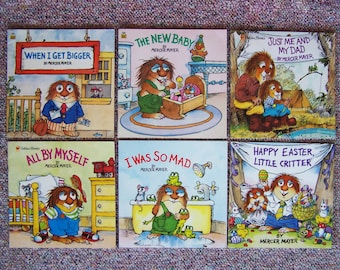 Mercer Mayer Little Critter Book Lot of 12 - Childrens Picture Books -  Paperback Kids Book Lot - Growing Up Stories