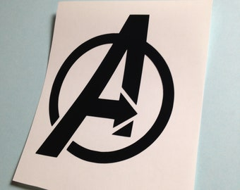 Avengers Logo Decal