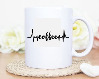 Coffee Heartbeat Coffee/Tea Mug