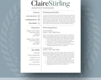 reference page for resume templates