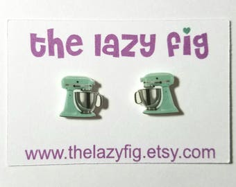 Kitchen Aid stud earrings