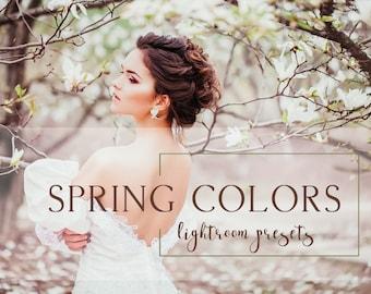 40 Spring Colors Lightroom presets
