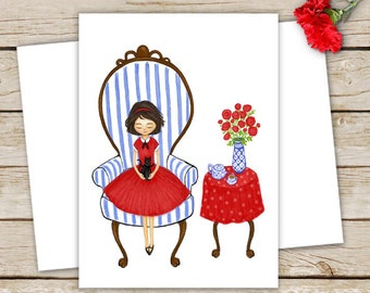 Tea for Two Friendship Card