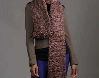 Fashionable Multi-Colored Scarf