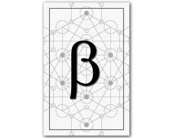 Beta, Math Poster