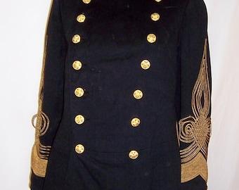 Men's Antique (Circa 1905) Japanese Imperial Army,  Partial Dress Uniform