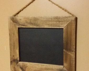 Rustic Decor, Chalkboard  16 x 14 ,Menu board, reclaimed wood chalkboard ,Rustic Home Decor,  chalkboard sign, Wedding Chalkboard