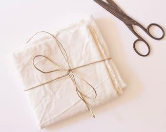 Fabric - Organic Linen - Ivory Linen