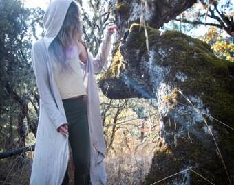 Nyhm Jacket - Organic Cotton - Hemp - Womens Cloak - Natural Clothing - Juniperous