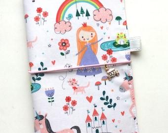 IN STOCK - Fabric Cover Fauxdori - Little Princess and Unicorn