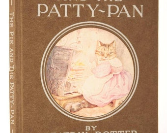 The Pie & the Patty-Pan by Beatrix Potter- Warne 1905 1st Edition