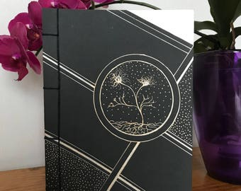 Handmade notebook, A5, Japanese binding