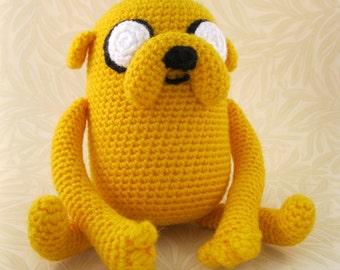 Jake the Dog Amigurumi Pattern PDF - Crochet Pattern