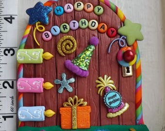 Birthday Fairy Door