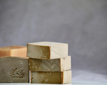 Natural Handmade Soap. Vanilla Soap. PALM FREE SOAP.
