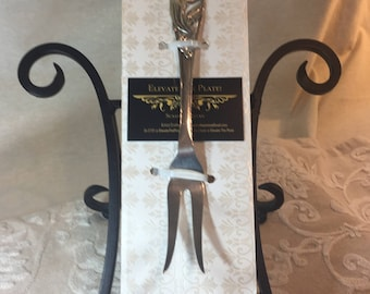 Vintage Art Deco Meat/Cheese Fork