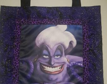 The Little Mermaid Ursula Tote Bag