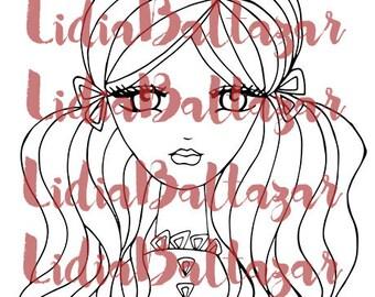Ana (Digi Stamp)