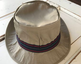 Vintage 1990's Bucket Hat Beach Hat