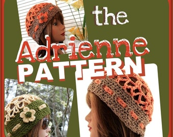 PATTERN - the ADRIENNE Beach Hat Photo Tutorial - Permission to Sell