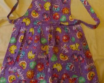 Little girls shopkins apron
