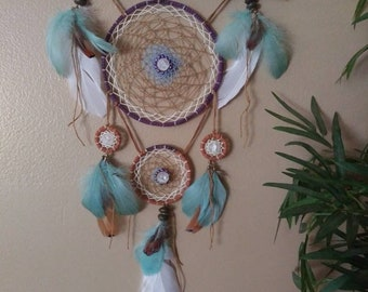 Dream Catcher, Wall Hanging, Natural Decorative Wall Hanging, Natural Dream Catcher