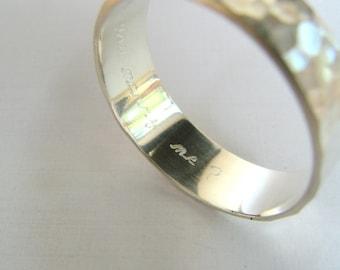 Custom Engraved Sterling Silver Proposal Wedding Band Ring. Personalized wedding band. Engraved Wedding Rings. Custom engraved wedding rings