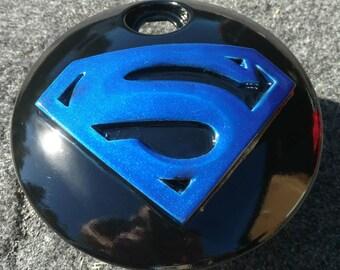 Harley Davidson touting fuel door 3D superman