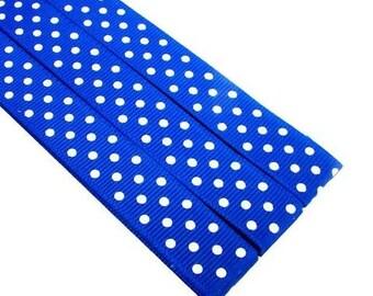 Pattern Magnet - Chart Keeper Magnetic Bookmark - Polka Dots (Royal Blue)
