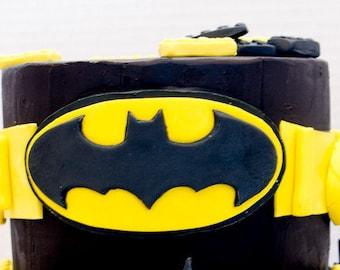 New batman cookie cuter 3D printer non toxic customized logo superheroes