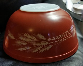 Pyrex Autumn Harvest mixing nesting bowl 403