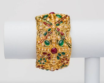 Indian - Rajasthani Traditional adjustable kada/bangle.