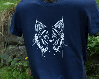 Mens Mysterious Lynx T - shirt