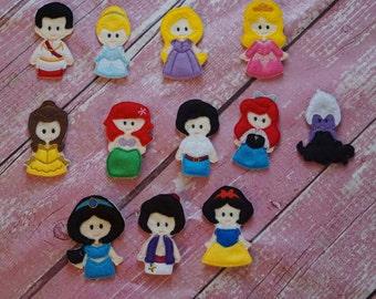 Princess Finger Puppets