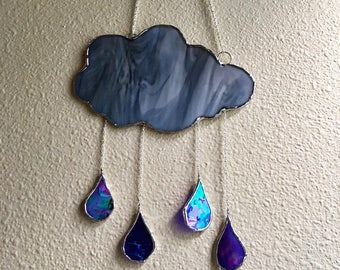 Stained Glass Storm Cloud