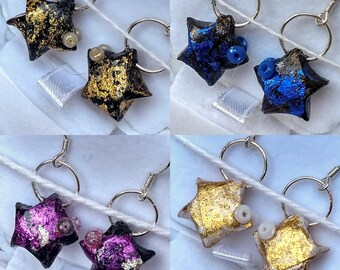 Earrings Origami star fish • mnop ⋆