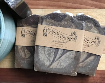 Hot Chocolate Scented Soap