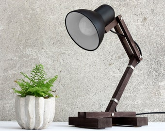 Desk Lamp, Reading Lamp, Black Lamp, Adjustable Lamp, Office Desk Lamp,