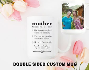 Mother's Day Mug Personalized Mug for Mom Custom Coffee Mug for Mom Mothers Day Custom Gift Photo Mug for Mom Custom Quote Mug Gift for Her